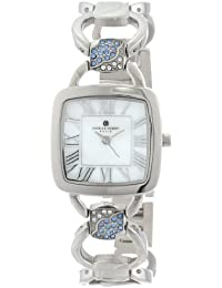 Charles-Hubert, Paris Women's 6832-W Premium Collection White Mother-Of-Pearl Dial Watch