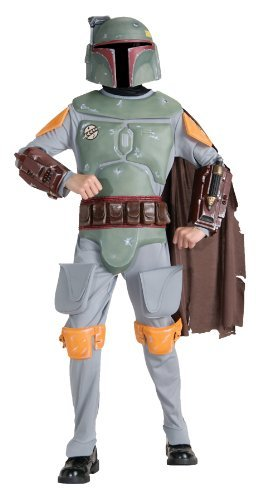 Boba Fett Deluxe Child Costume (Rubie's Boba Fett Child Costume Deluxe -)
