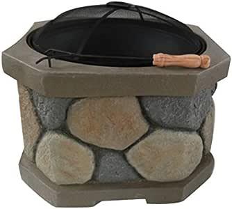Amazon.com : Santa Monica Fire Pit : Garden & Outdoor