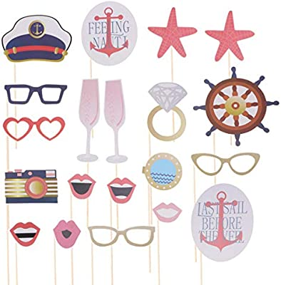 Amosfun - Kit de accesorios para fiesta de cumpleaños (20 ...