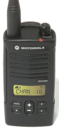 Motorola RDU4160D RDX Business 2-Way UHF Frequency Professional Two Way Radio (2-Pack)