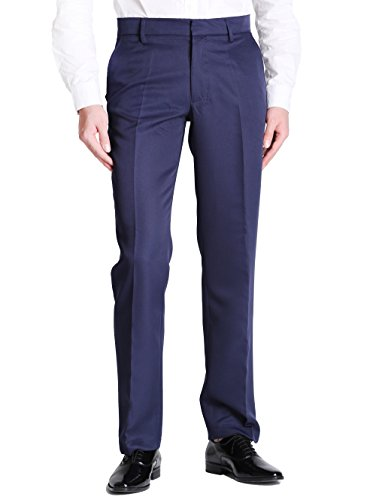 navy blue dress pants - 6