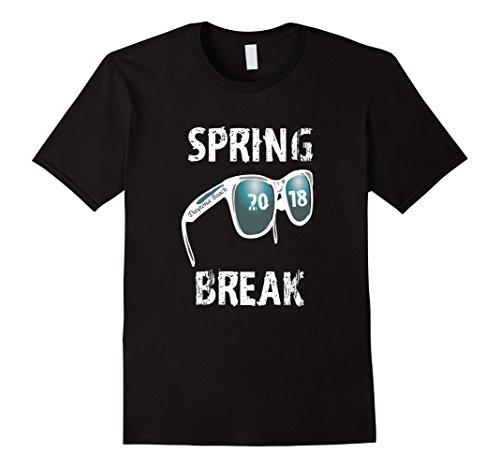 2018 Spring Break Daytona Beach Funny Retro Tee - Sunglasses Beach Daytona