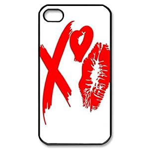 The Weeknd XO Use Your Own Image Phone Case for Iphone 4,4S,customized case cover ygtg-788704