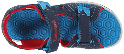 Timberland Adventure Seeker 2, Sandalias Abiertas, Niños Azul (Navy/Blue/Red)