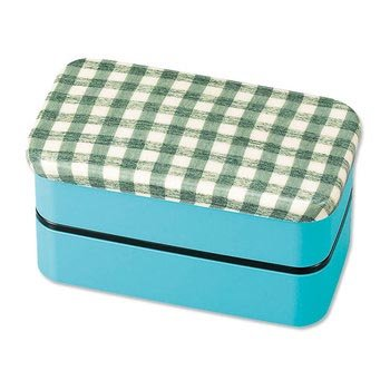 Textile Design Authenic Bento Box (Sky Blue) from Hakoya