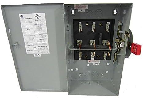 GE tc35322 General Electric doble manta Interruptor de seguridad 60 Amp 240 VAC