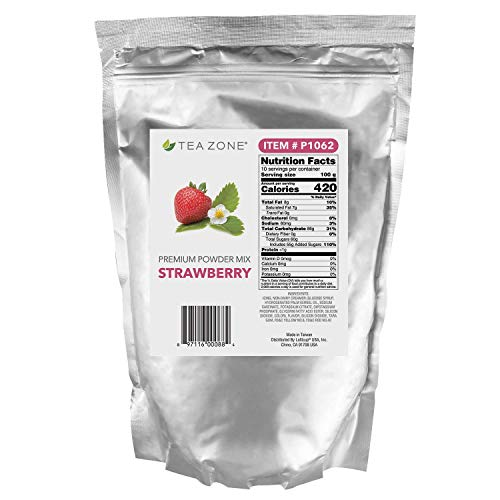 - Tea Zone 2 lb Strawberry Powder