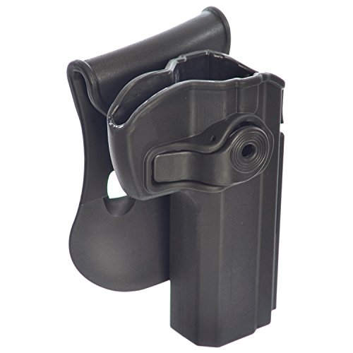 oto Holster Polymer Paddle Gun Holster for CZ 75 SP-01 Shadow, Tactical, Compact and Tactical Sports (01 Shadow)