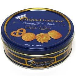 Original Gourmet Danish Style Premium Butter Cookies in