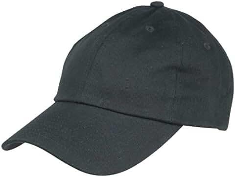 Dalix Unisex Unstructured Cotton Cap Adjustable Plain Hat