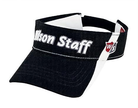 Wilson Staff - Gorra de Golf, Talla única, Color Negro: Amazon.es ...