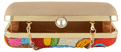 Shadab Parizaat Women's By Khan Clutch Bx73mlt coloured Multi OOSqr5x