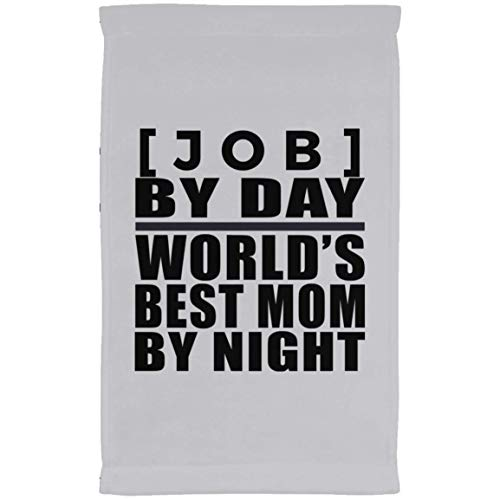 Personalized Gift, [Job] Day Best Mom Night - Kitchen Towel...