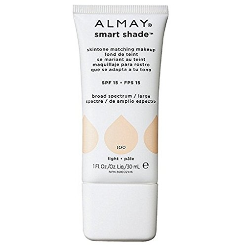 Almay Smart Shade Skin Tone Matching Makeup, Light  1 oz