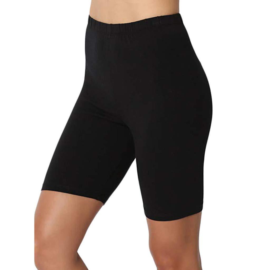 OGGID Pantaloncini Sportivi Donna Pantaloncini Corti Vita Alta Eleganti Pantaloncini Corti Leggings ,Yoga Pilates Pantaloni Tuta Donna Stretti Ghette
