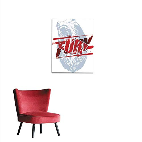 longbuyer Wall Picture Decoration Fury Sign Mural