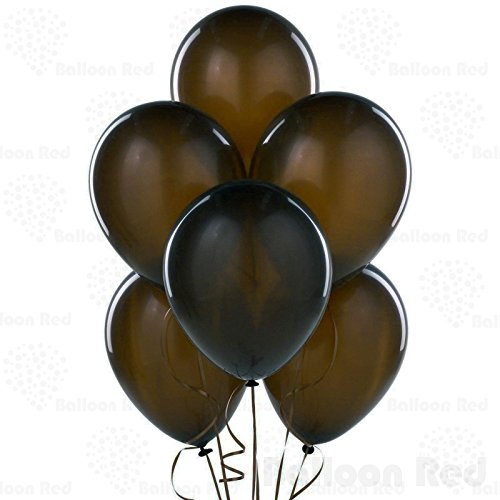 [12 Inch Latex Balloons (Premium Helium Quality), Pack of 100, Chocolate] (Dark Chocolate M&m Costume)