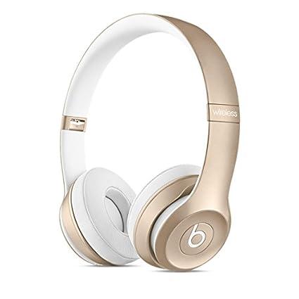 8b0cfb5b3a2 Amazon.com: Beats Solo2 Wireless On-Ear Headphone - Gold (Old Model): Home  Audio & Theater