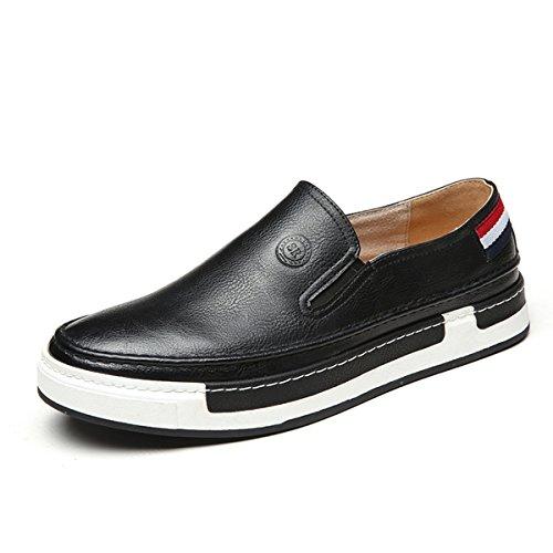 Derby Moderno Zapatillas Talla 44 Tipo diseño LFEU cómodo y Unisex 39 Negro R0qXgwx