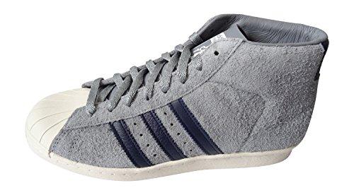 Adidas Originals Mcn PROMODEL 84-laboratorio para hombre de las zapatillas de deporte Formadores D65 TECGRE/COLNAV/LBONE