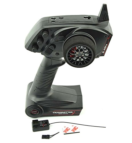 LNL TG3 2.4GHz 3CH Digital Radio Remote Control Transmitter with Receiver for RC Car (Rc Transmitter Receiver)