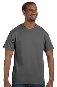 Hanes - 6 oz. Tagless T-Shirt >> XL,SMOKE GRAY