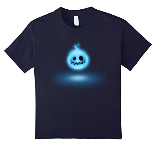 Kids Ghost - Easy Halloween Costume - Halloween 2017 Shirt 12 Navy (2017 Halloween Costumes For Guys)