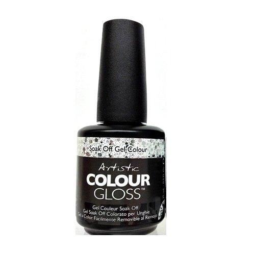 Artistic nail amazon artistic nail design colour gloss silver glitter gel polish 03102 suspicious prinsesfo Image collections