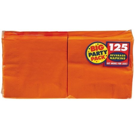 Napkins (Orange Beverage Napkins)