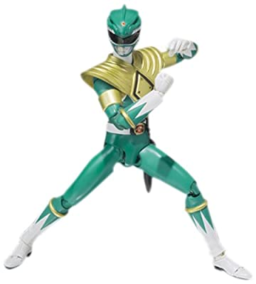 "Bandai Tamashii Nations Mighty Morphin Green Ranger ""Mighty Morphin Power Rangers"" S.H. Figuarts Action Figure"