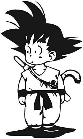 - Anime Vinly Decal Sticker for Cars//Laptops//Window 2.3 x 4.0 DBZ KyokoVinyl Kid Goku Dragon Ball Z