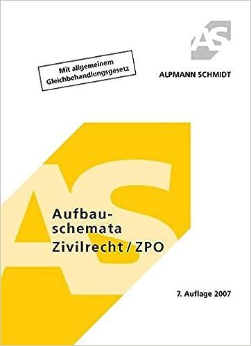Aufbauschemata Zivilrecht Zpo Amazonde Annegerd Alpmann Pieper