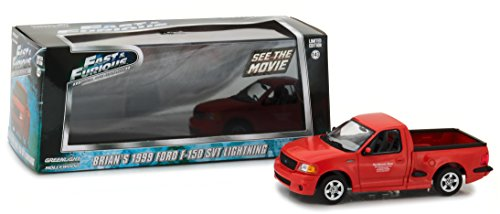 1:43 Fast and the Furious (2001) -1999 Ford F-150 Svt Lightning () Die-Cast Vehicle - GreenLight 86235