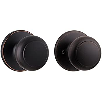 Kwikset Cove Hall/Closet Knob in Venetian Bronze