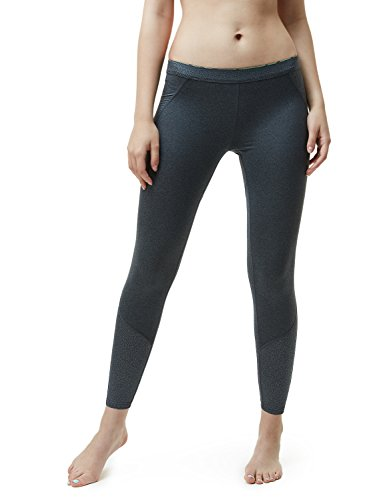 TM-XUP33-ZCC_Large Tesla Women's Thermal WinterGear Compression Baselayer Pants Leggings Tights - Running Womens Bottoms