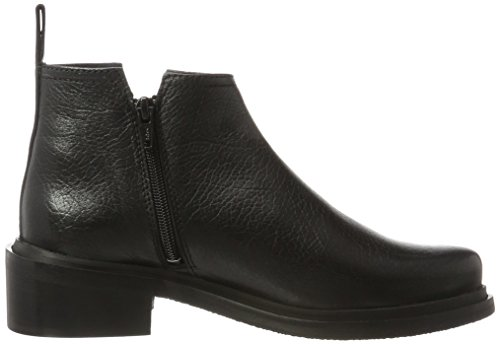 Shoe Biz Zip Boot, Stivaletti Donna Nero (Aragon Black)