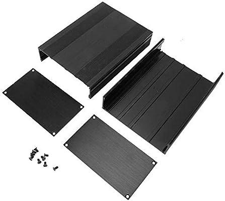 Caja de aluminio, caja de caja electrónica de aluminio, caja de ...