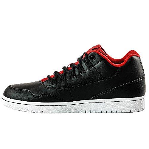 Nike Jordan Executive Low, Scarpe da Basket Uomo Nero (Negro (Black / Gym Red-gym Red-white))