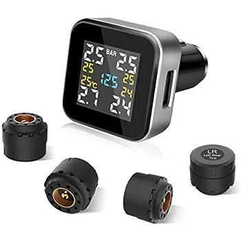 Amazon Com Smart Bluetooth Tire Pressure Monitoring