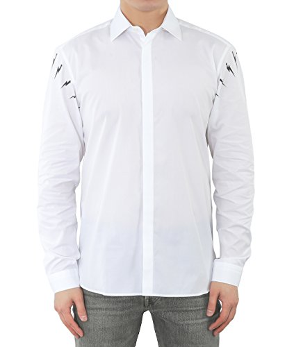 wiberlux-neil-barrett-mens-thunder-print-hidden-placket-shirt-39-white