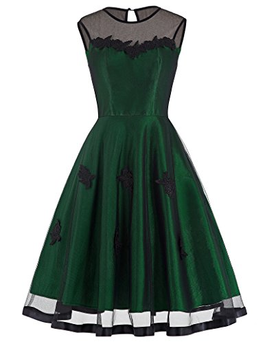 Women-Vintage-Party-Swing-Dress-Sleeveless-BP0112