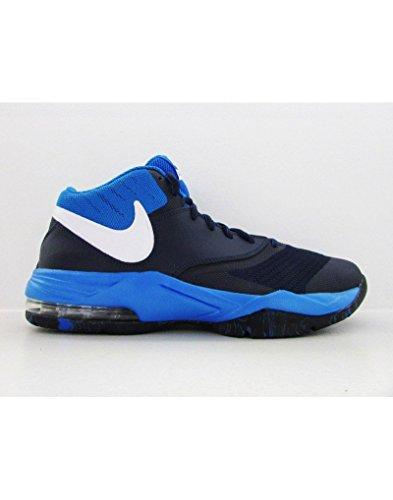 Nike Herren Air Max Emergente Basketballschuhe, 42 Eu Azul Marino (metà Blu / Bianco-pht Bl-td Pl Bl)