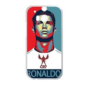 Ronaldo White HTC M8 case