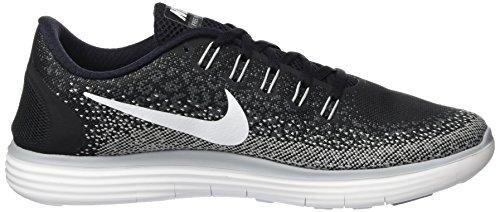 Nike Free Rn Distance, Zapatillas de Running para Hombre Negro