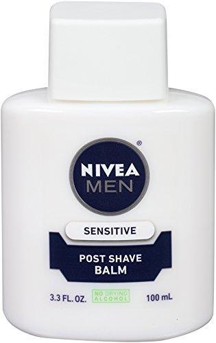Nivea Men Sensitive Poster rasage, système Confort active, bouteilles 3,3 onces (pack de 4)