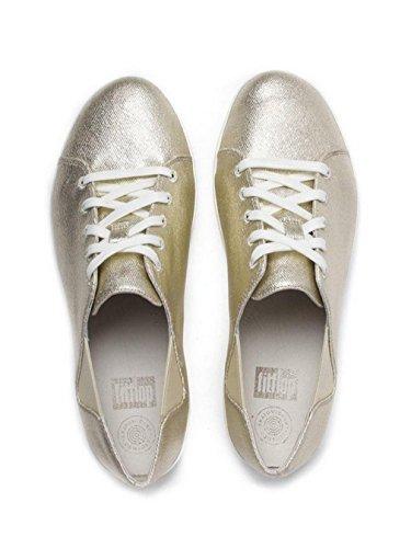 Oro De F-deportiva Con Cordones Zapatillas Fitflop Oro