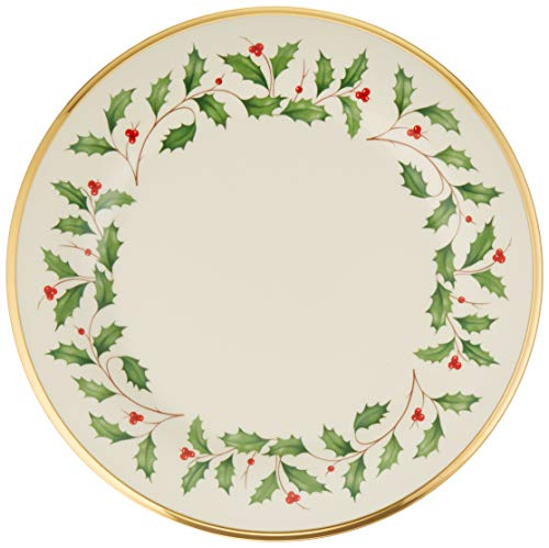 Lenox Holiday Dinner Plate (Lenox Porcelain Plates)