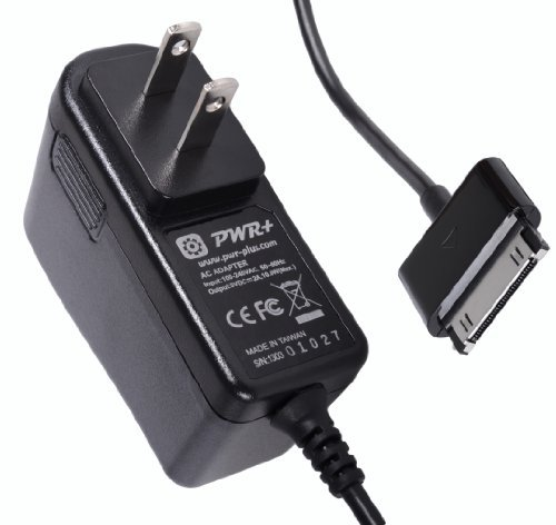 [UL Listed] Pwr+ Extra Long 6.5 Ft AC Adapter 2A Rapid Charger for Samsung Galaxy Note 10.1 GT-N8013 N8000; Galaxy Tab 2 7.0...