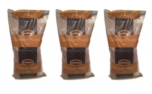 Farmer Brothers Medium Roast Ground Coffee 3 X 5lbs Ground Coffee 1271-3